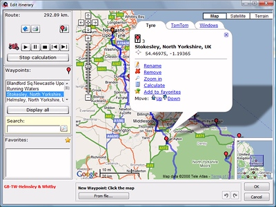 Other GPS Software Screenshots