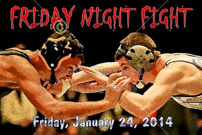2014 Senior Night versus Watkins Memorial (01-24-14)