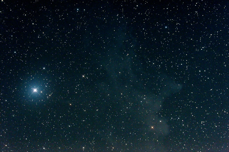 IC2118 Witch Head Nebula in Eridanus - 23/8/2014 (Processed stack)