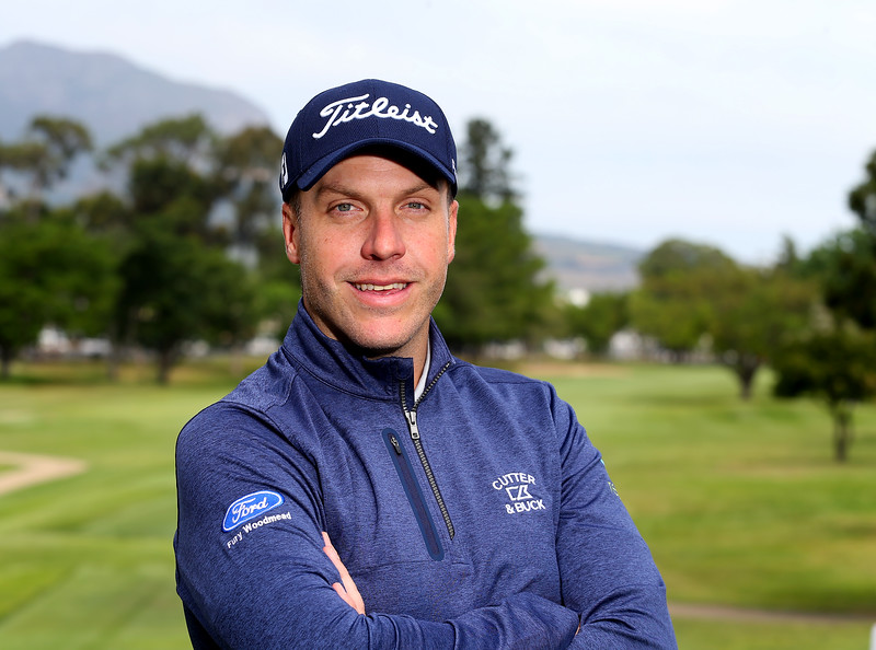 STELLENBOSCH, SOUTH AFRICA - OCTOBER 2: Neil Schietekat during the held at Stellenbosch Golf Club on October 2, 2018 in Stellenbosch, South Africa. EDITOR'S NOTE: For free editorial use. Not available for sale. No commercial usage. (Photo by Carl Fourie/Sunshine Tour)