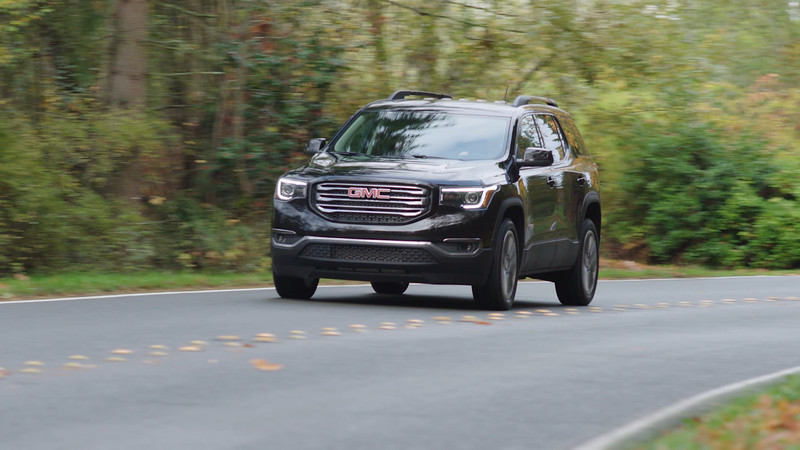 2017 GMC Acadia All Terrain Edition Driving Reel