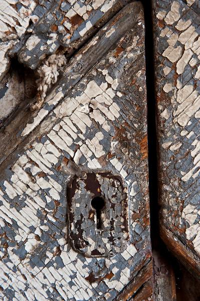 Detail - dock door