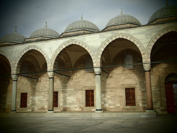 Side view of Suleymaniye Mosque