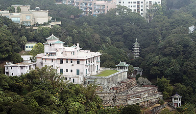 HK the peak houses