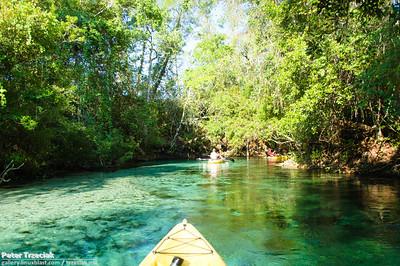 Kayaking Weeki Wachee River - May 2012