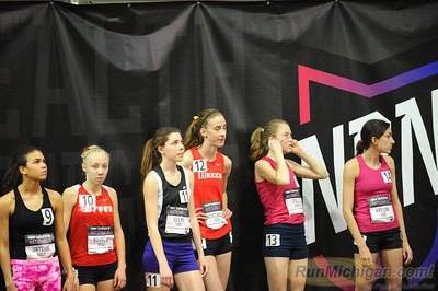 Girls' 2 Mile, Michigan only - 2013 New Balance Indoor HS Nationals