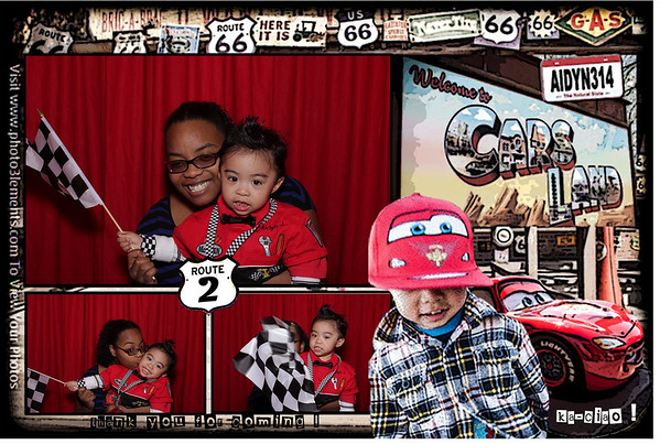 Pit-Stop Booth - Aidyn's 2nd Birthday Party