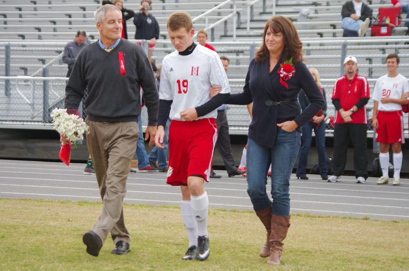 HHS Soccer Senior Night