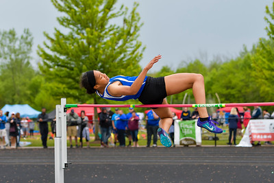 Girls' High Jump - 2019 MHSAA LP D2 T&F Finals