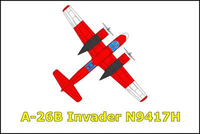 A-26B Invader N9417H 5/3/15
