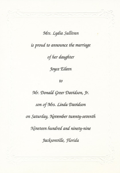 Marriage Announcement (Joyce Sullivan Davidson).jpg