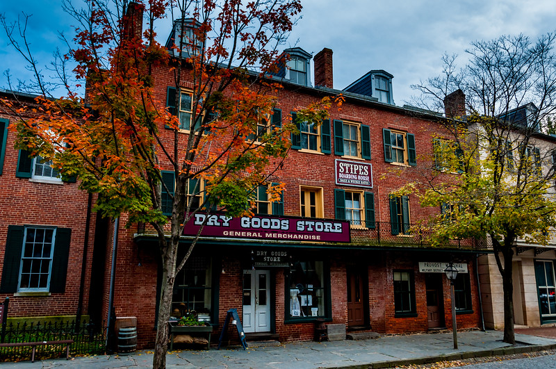 Dry Goods Store along Shenandoah Street, Harpers Ferry, West Virginia