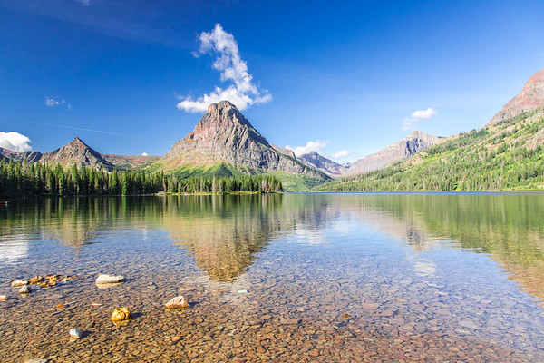Glacier NP: Two Medicine Lake