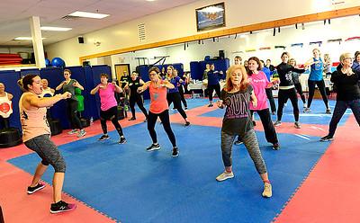Fitness demonstration in LaGrange