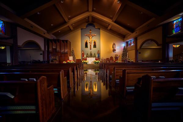 St. Ann's Catholic Church Christmas 2015