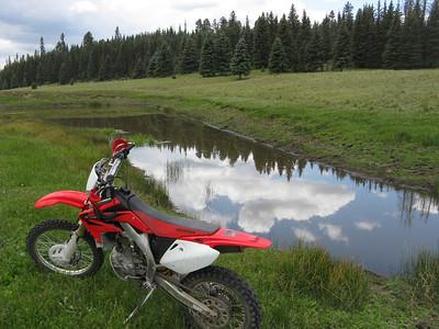 Jemez Mtns. - FR144 area ST Ride  7-6-08