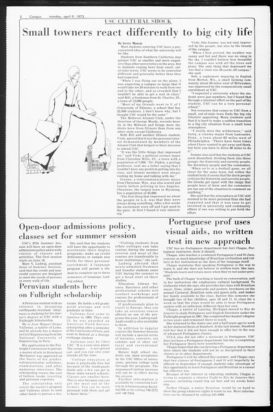 SoCal, Vol. 65, No. 108, April 09, 1973