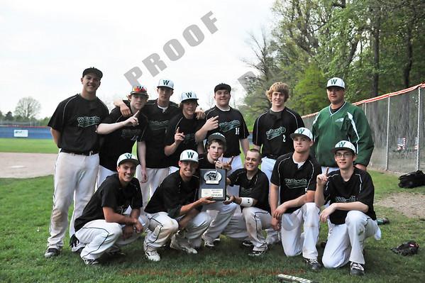 Varsity Baseball - Williamston at Mason - April 30