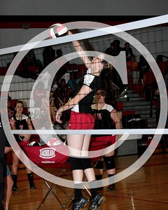 HCHS Volleyball 9/18/2012 vs. Suwannee High