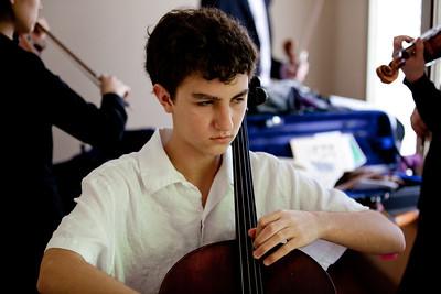 Gabe Ashley Julien and Steven play Jr Bach 2011
