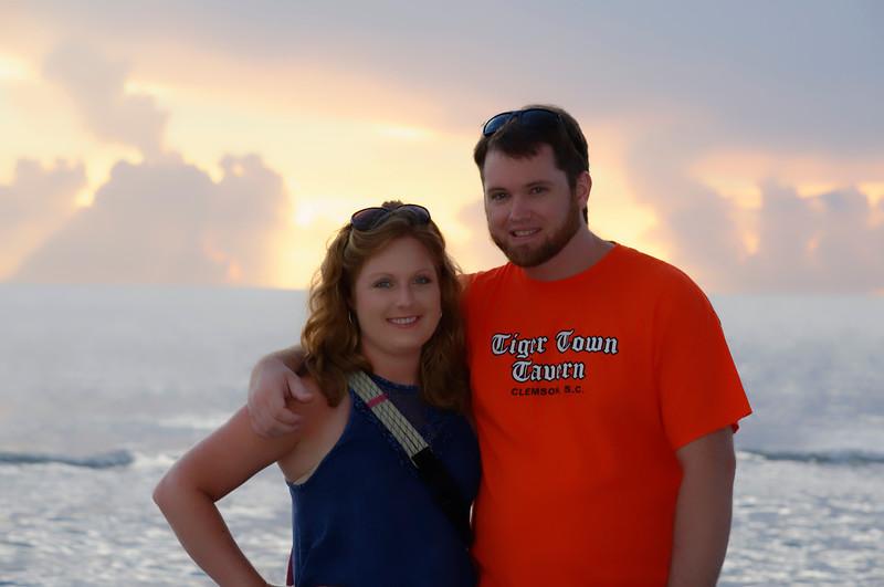 Lauren and Grafton