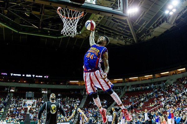 2017 Harlem Globetrotters, Seattle