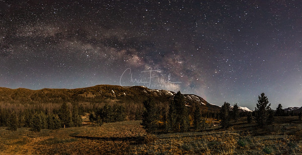 Night One Under The Milky Way in the High Uintas