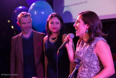 Teresa, Lorena, Zachary Election Night Party
