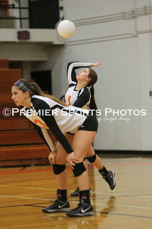 La Porte Varsity Volleyball vs Dayton 8/26/2014