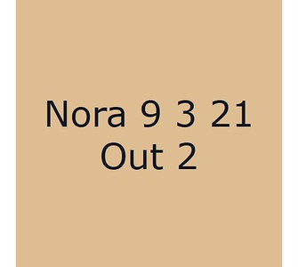 Nora 9 mars Out 2