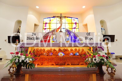 CDM's Stain Glass, Grotto & Other Decorations