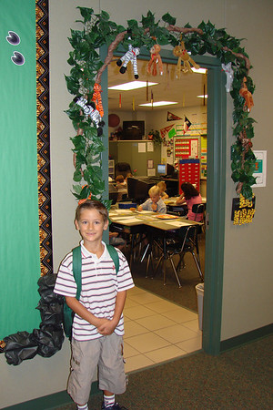 Daniel's First Day of Second Grade