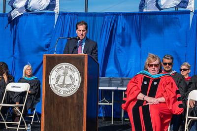 Todd Kaminsky Long Beach High School Graduation 2021