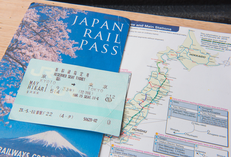 Japan Rail Passes. Editorial credit: oatautta / Shutterstock.com
