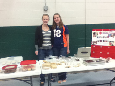 Teens for Life Red Cross bake sale