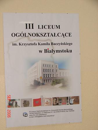 High School in Poland