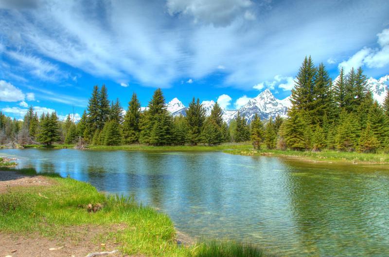 Schwabacher Landing Grand Tetons Wyoming