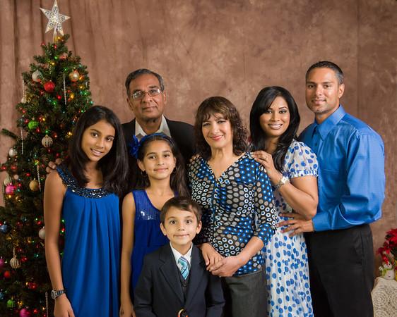 Mahavir Family Christmas 2012
