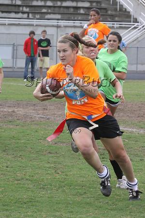 2009 SMHS Powder Puff Flag Football