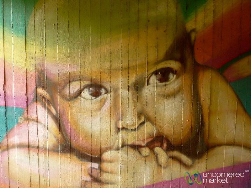 Chubby Baby Face - Street Art in Berlin, Germany