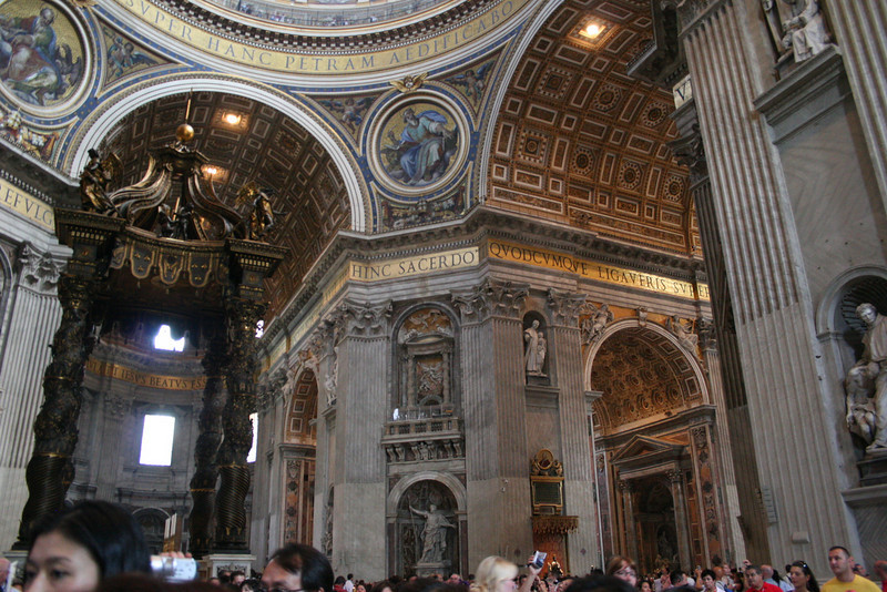 The Vatican in Rome; St. Peter's Basilica
