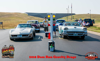 2018 - 29th Annual Dam Run Gravity Drags - Who is the Fastest Coaster?