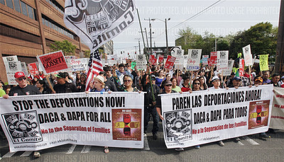 Numerous protest marches marked May Day 2015 around Seattle, Washington