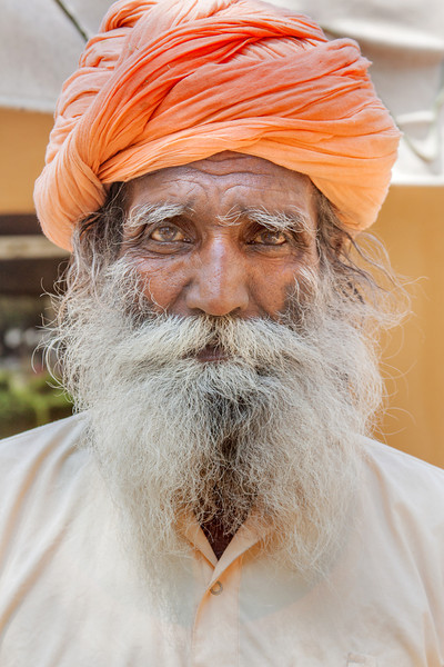 Sadhu at a Temple