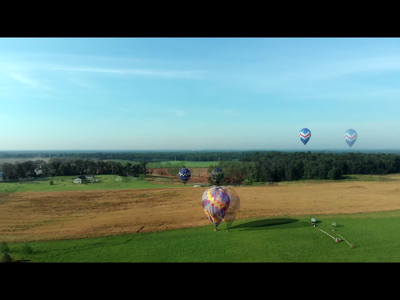 Battle Creek Balloon Chasing