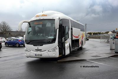 Portlaoise / Newbridge (Bus), 30-03-2018