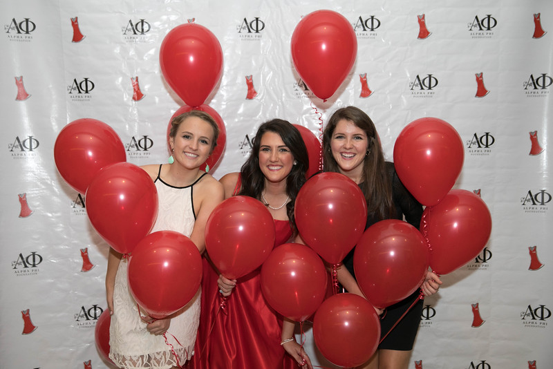 Alpha Phi Red Dress Gala 2016