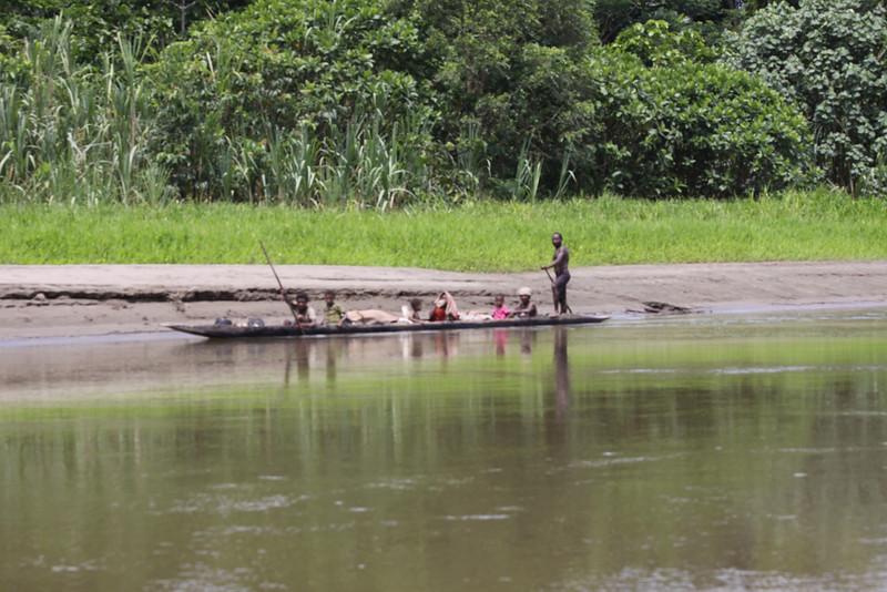 Karawari River transport