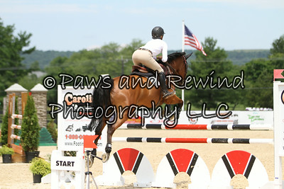 Wednesday Ring I: 6yr Old USEF Young Jumper