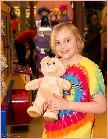 Kaitlyn's Build-A-Bear Party